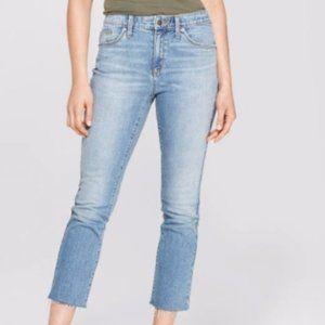 Universal Thread High-Rise Straight Crop Jeans